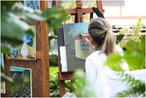 Drawing, painting and art reduce stress