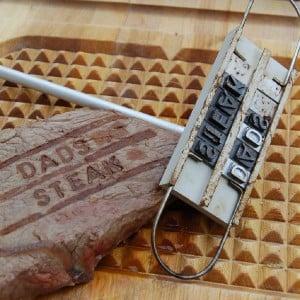 20 BBQ Branding Iron