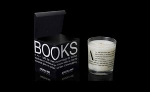 26 Book-Scented Candle