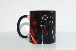 4 Star Wars Heat-Sensitive Coffee Mug